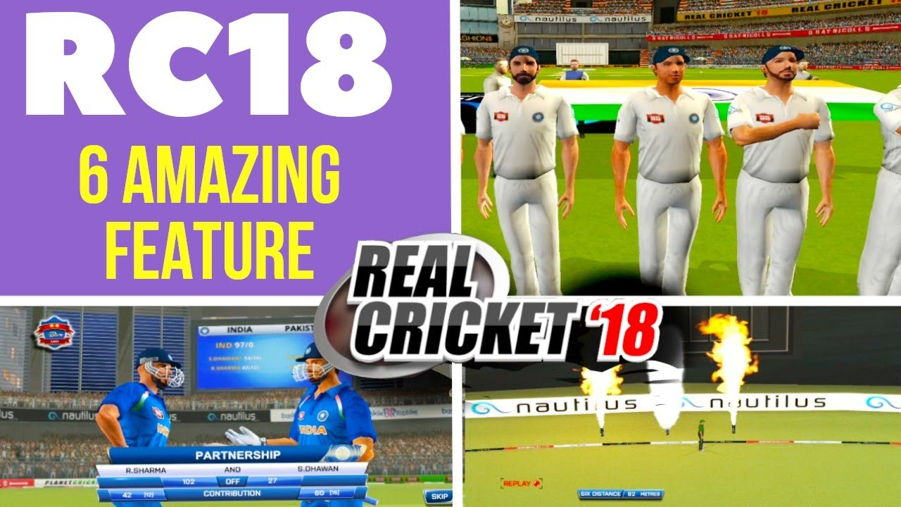 🔥 Real cricket 18 6 Amazing new features, download and full review