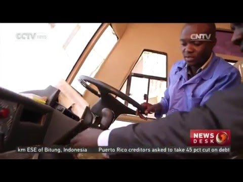 Uganda building Africa's first solar powered bus