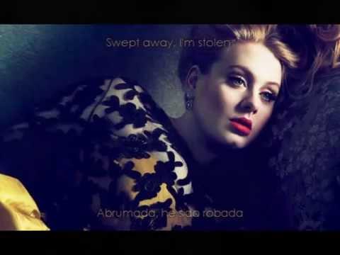 Adele Skyfall subtitulado español -  ingles