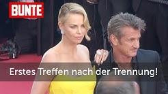 Charlize Theron und Sean Penn: Erstes Treffen nach Trennung - BUNTE TV