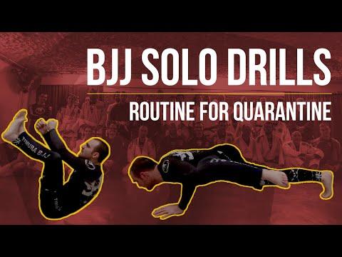 BJJ Solo Drills Routine For Quarantine