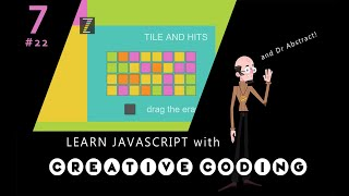 VID 22 - Learn JavaScript with Creative Coding - fun, colorful and free!