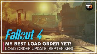 My Best Load Order for Fallout 4 on Xbox One So Far (September Update)