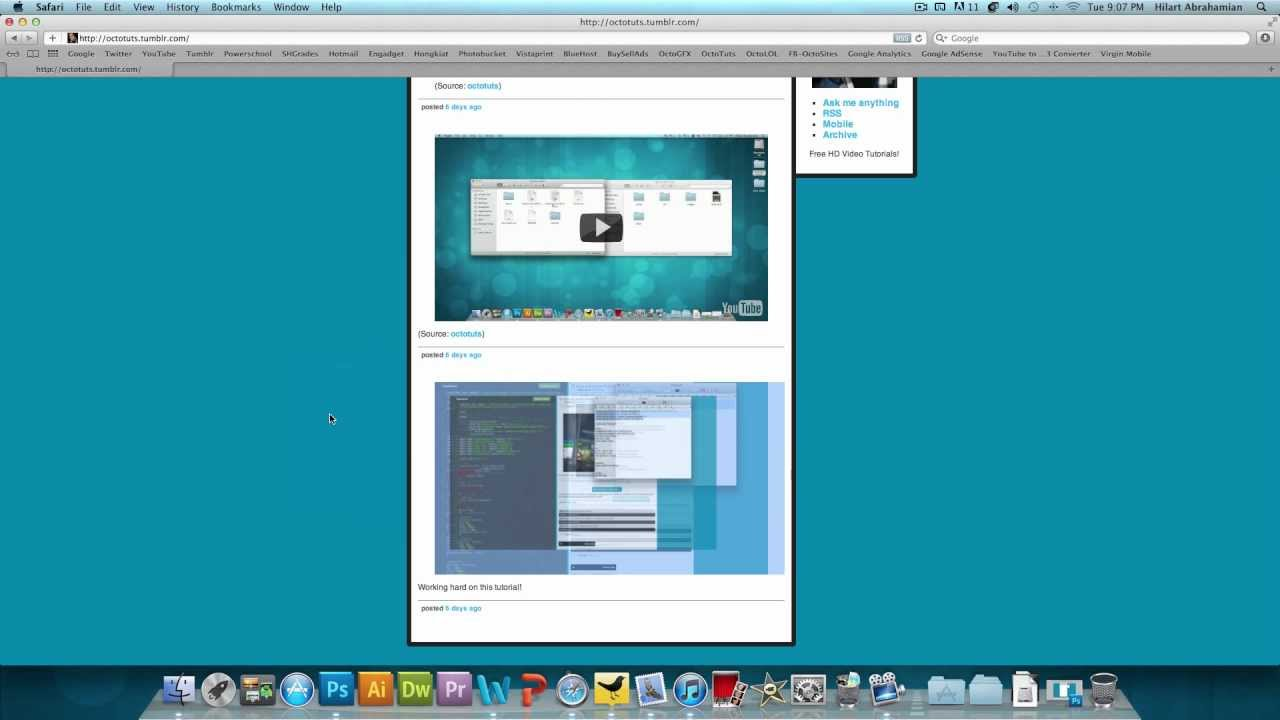 How To Make A Tumblr Theme Part 1 Of 3