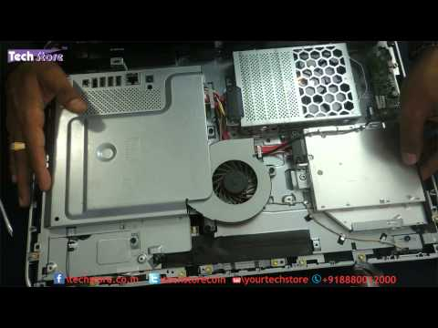 hp 20 2015 all in one ram and harddrive upgrade easy diy rip apart