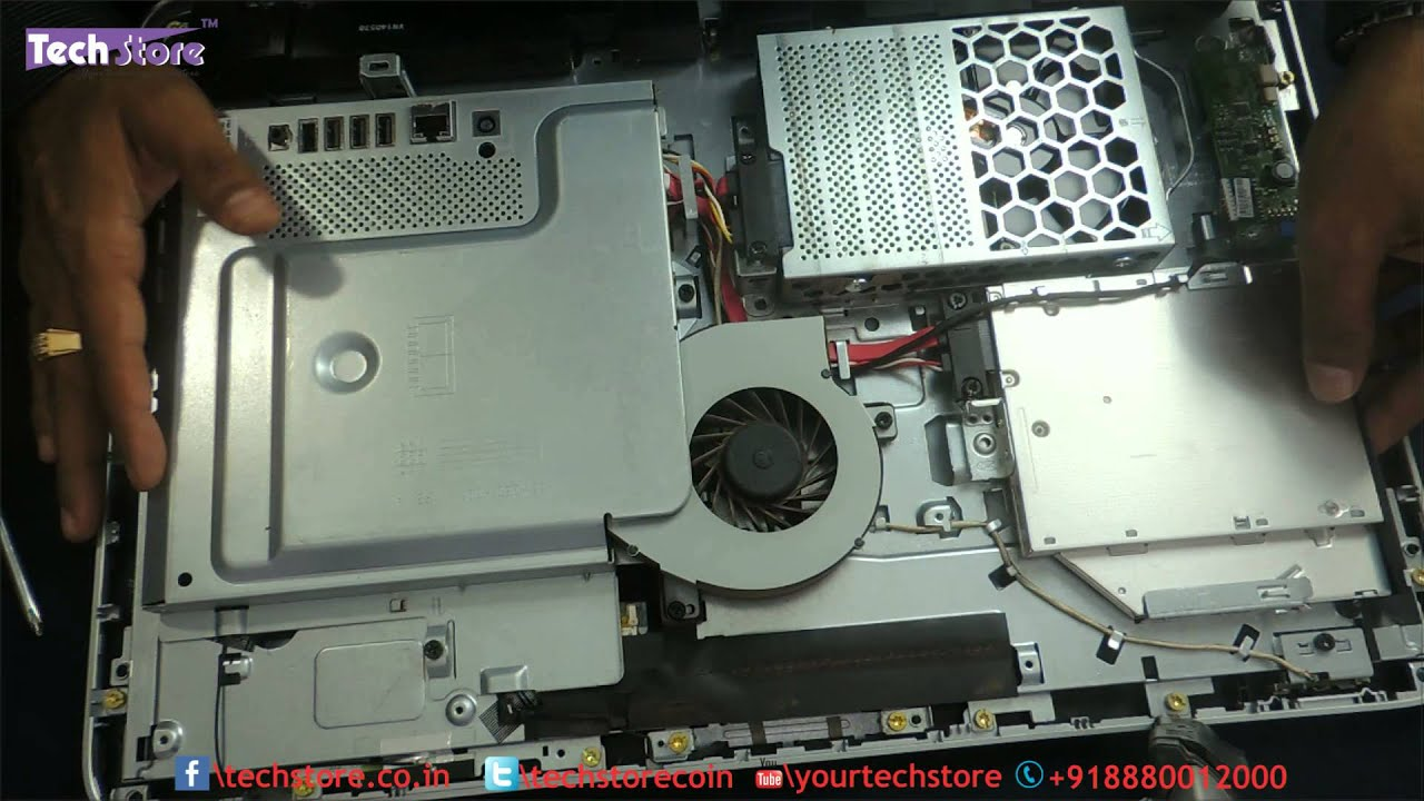 Hp 20 2015 All In One Ram And Harddrive Upgrade Easy Diy