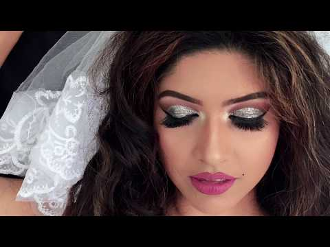 Western bridal makeup by Roshi( Beyond The Reality)