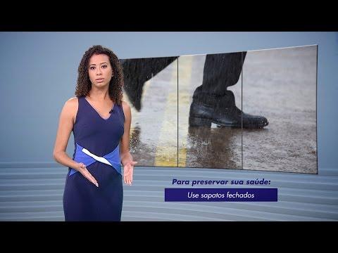 Doenças transmitidas pela Água da Chuva | Perigos da Chuva - TV Gazeta