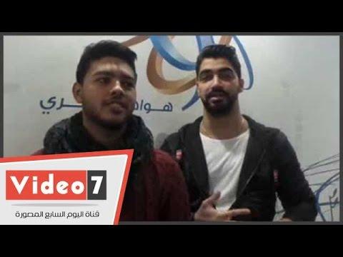 اليوم السابع : بالفيديو.. محمد شاهين يحتفل بأول عمل مشترك مع مينا عطا