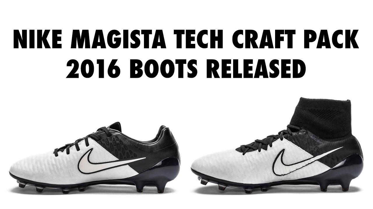 Nike Magista Tech Craft Pack 2016 Boots Released, Closer Look