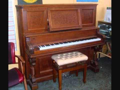 1892 Emerson Upright Grand - YouTube