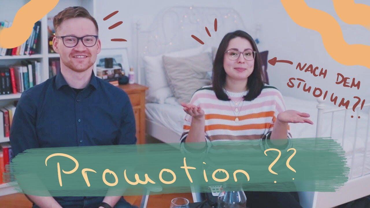 Doktortitel - ja oder nein? // @Motiviert Studiert - Lernen neu erleben