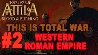 Video This is Total War: Attila - Legendary Western Roman Empire #2 download MP3, 3GP, MP4, WEBM, AVI, FLV Agustus 2017