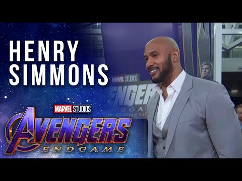 S.H.I.E.L.D. Director Henry Simmons LIVE at the Avengers: Endgame Premier
