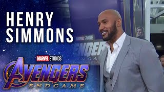 Henry Simmons at the Premiere