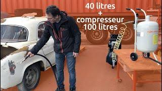 La quotidienne : Test client Sableuse aérogommeuse 40 litres