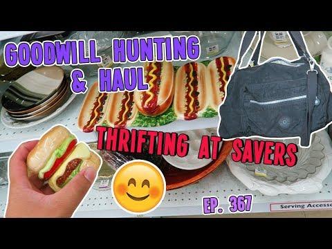 THRIFTING AT SAVERS | GOODWILL HUNTING & HAUL EP. 367