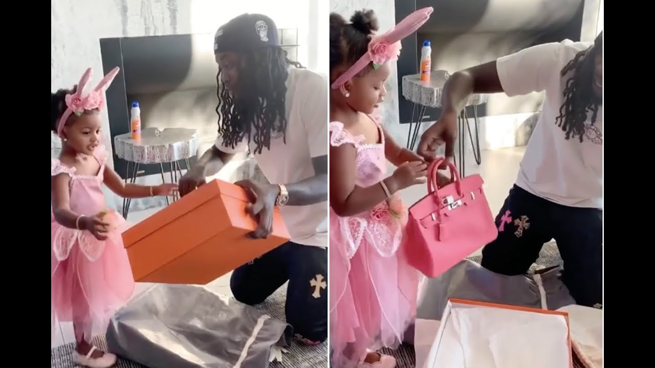 Cardi B responds to criticism about gifting 2-year-old daughter ...