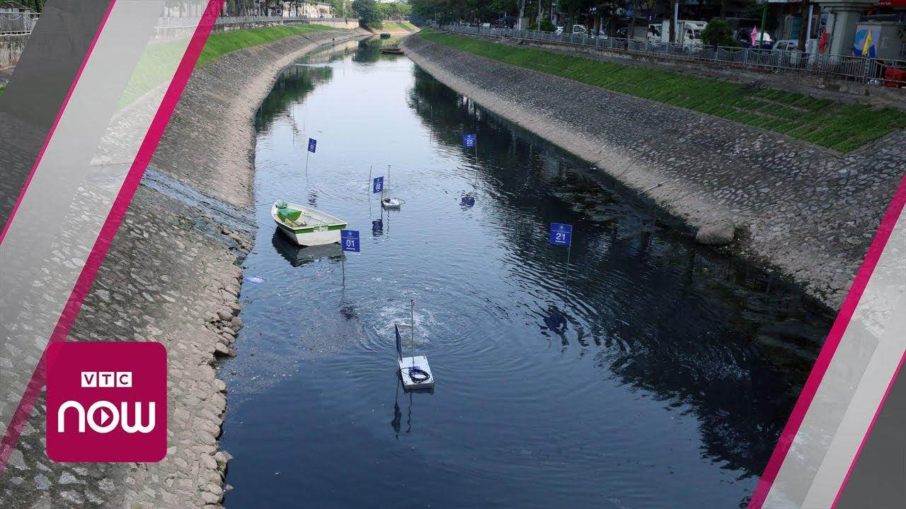 Công nghệ Nhật Bản làm sạch sông Tô Lịch thất bại