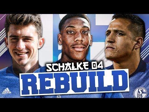 REBUILDING SCHALKE!!! FIFA 18 Career Mode
