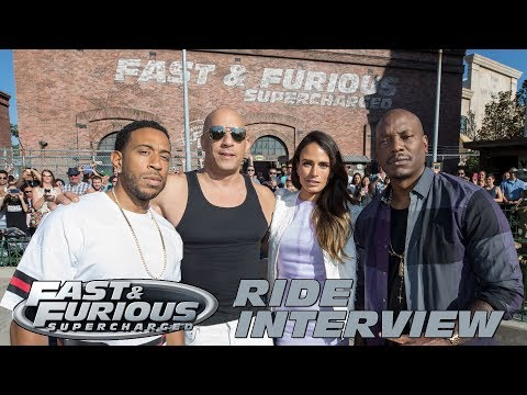 'Fast & Furious - Supercharged' Interview