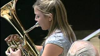 Gambar cover The Swan played by Katrina Marzella with National Youth Brass Band of Scotland