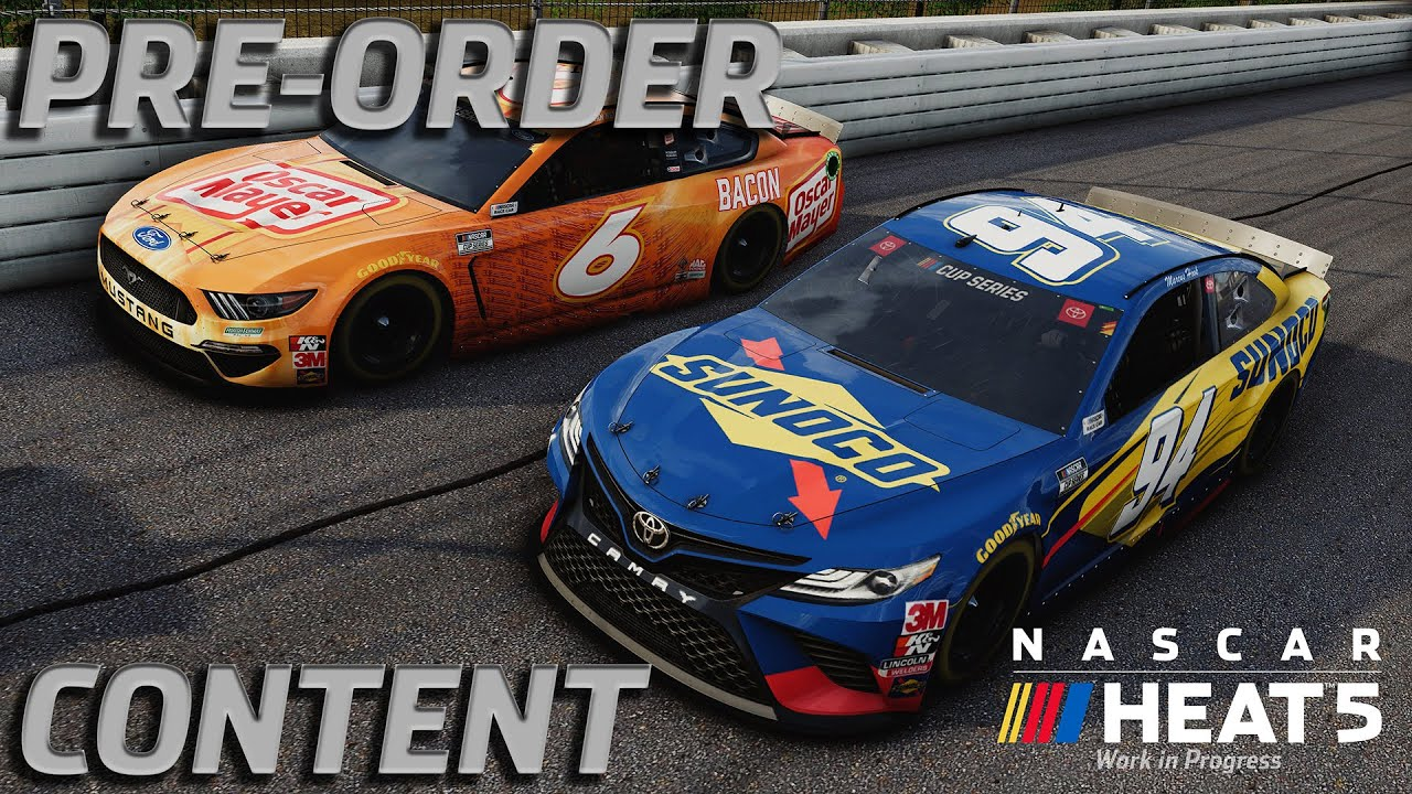 NASCAR Heat 5 Pre-Order Content and Roster Preview