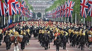 Famous British Marches - performed by The Black Dyke Band (Massed Band)
