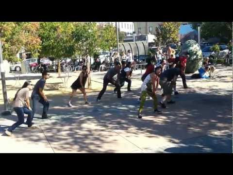 Gangnam Style Flash Mob - Palo Alto, CA