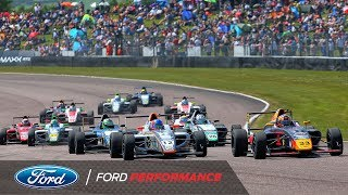 Thruxton Highlights | F4 British Championship | Ford Performance