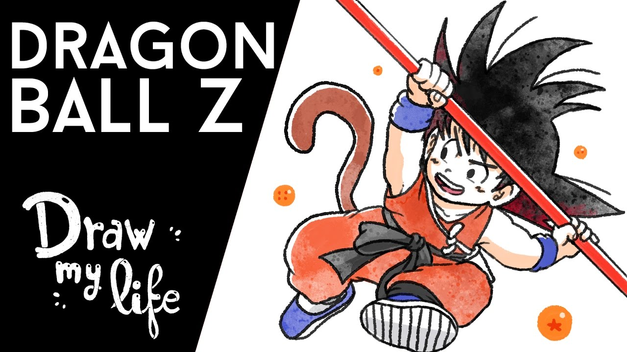 DRAGON BALL Z #FelizDiaDeGoku - Draw My Life