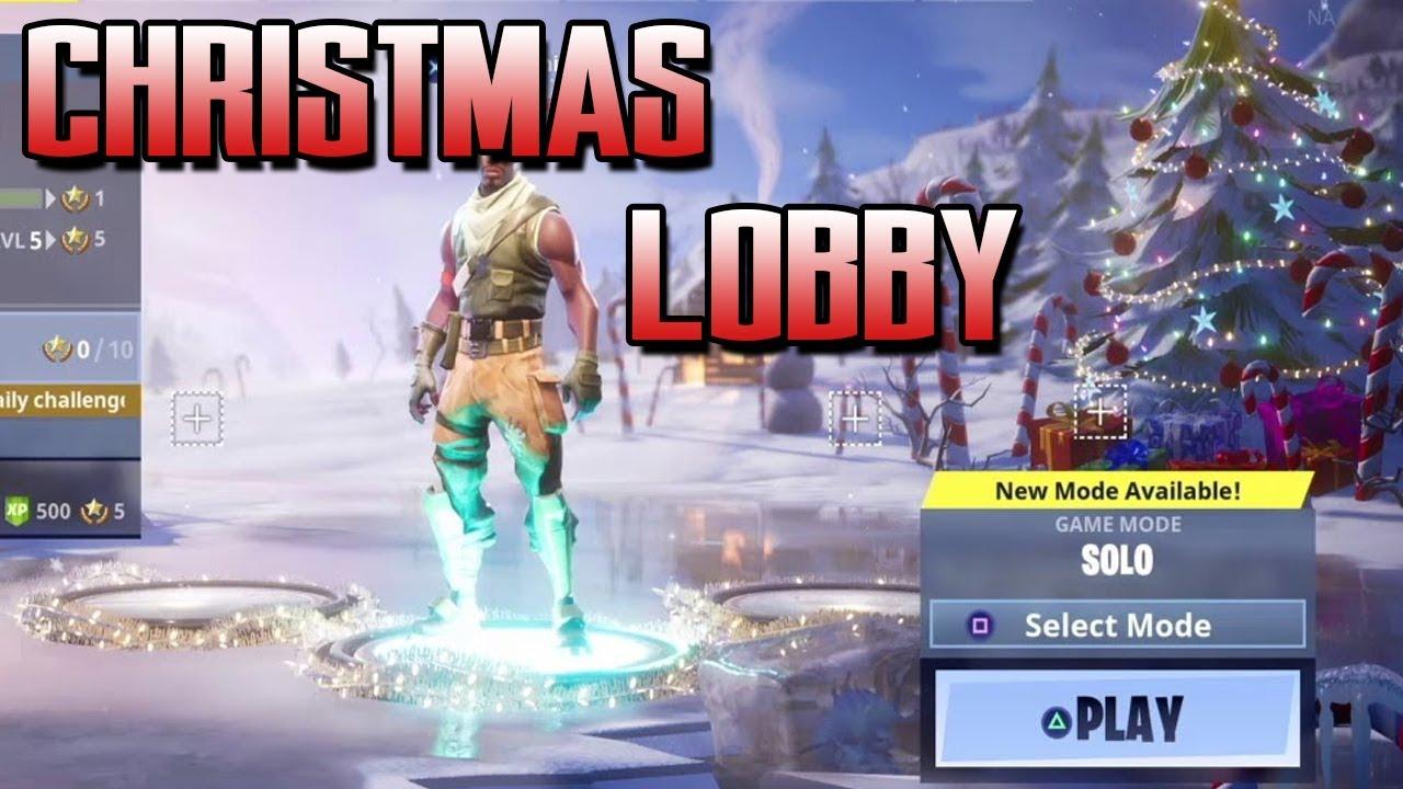 Fortnite Background Christmas Fortnite Online Games
