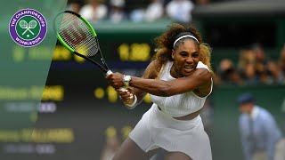 Serena Williams vs Alison Riske Wimbledon 2019 quarter-finals highlights