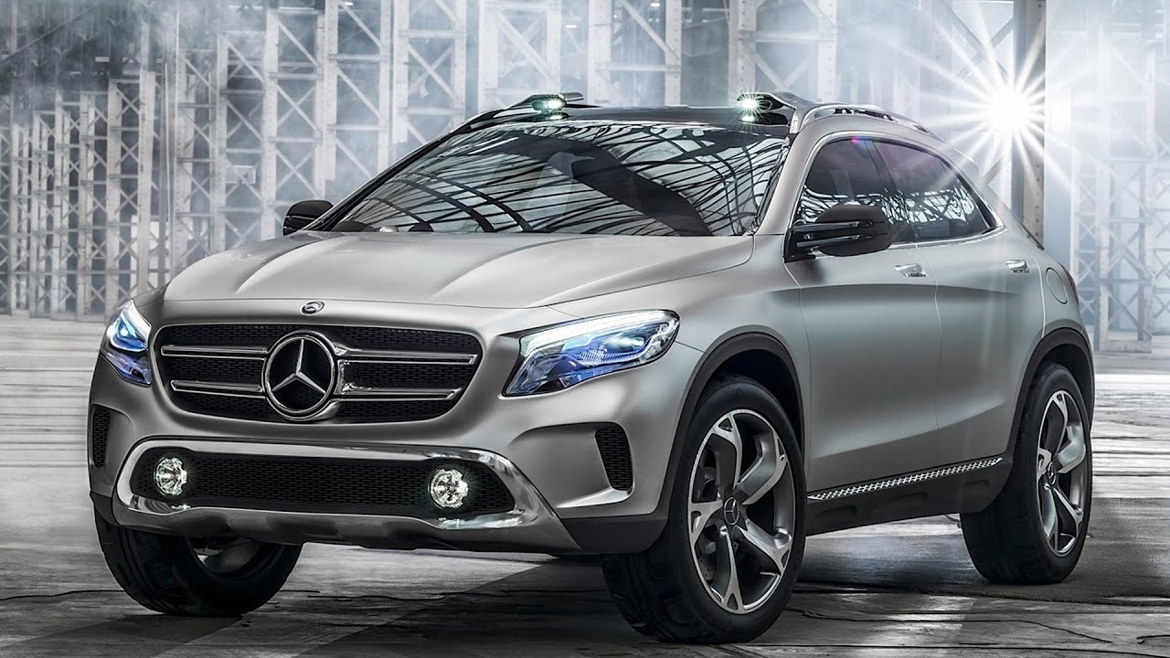 2018 mercedes benz gla teaser revealed ahead of official. Black Bedroom Furniture Sets. Home Design Ideas