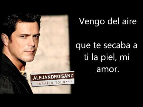 Alejandro Sanz - No Me Compares Letra Lyrics