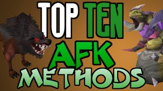 Top 10: AFK Methods of Training! [Runescape 2014]