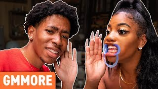 Mouth Opener Whisper Challenge Ft. De'arra & Ken 4 Life