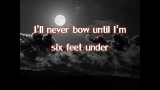 Repeat youtube video Down - Thousand Foot Krutch (Lyrics)