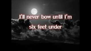 Down - Thousand Foot Krutch (Lyrics)