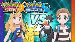 pokemon sun and moon 3ds gameplay walkthrough part 9 rival battle vs dani route 3 trumbeak