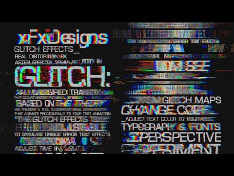 glitch text effects toolkit 30 title animation presets. Black Bedroom Furniture Sets. Home Design Ideas
