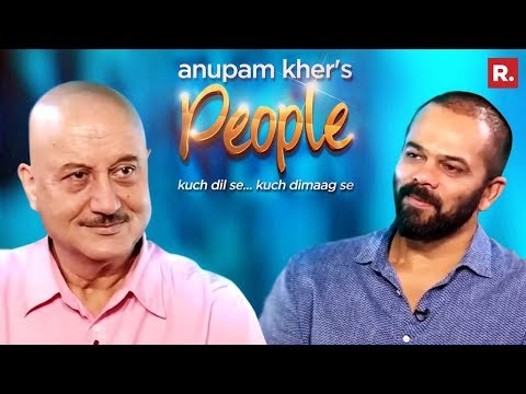 Anupam Kher In Conversation With Rohit Shetty