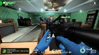 Payday 2 Gameplay PC - Full HD 1080p60 Max Settings - E8600 @ 4.15 Ghz / GTX 750 TI OC - OSD/FPS