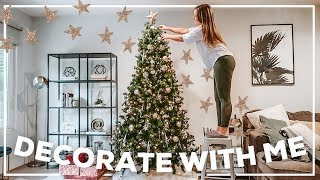DECORATING MY HOUSE FOR CHRISTMAS! Holiday 2019 Decor | Morgan Yates