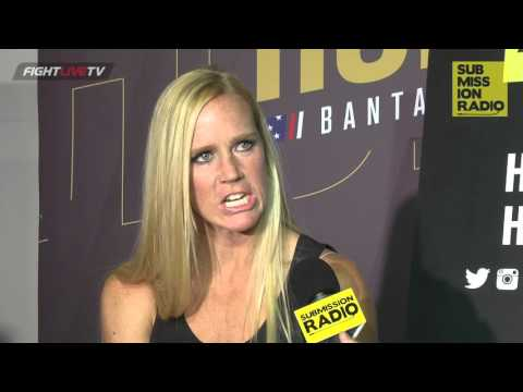 UFC 193: Holly Holm on getting kicked by fan, how good Ronda's boxing really is