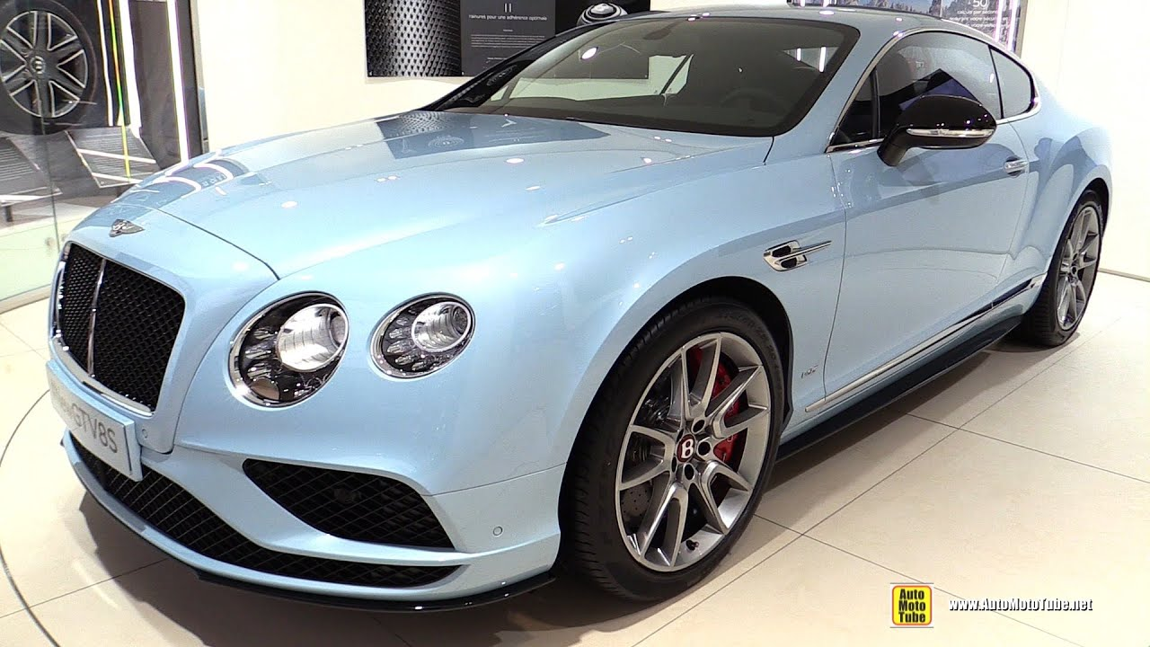 2016 Bentley Continental GT V8S - Exterior and Interior Walkaround ...