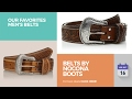 Belts By Nocona Boots Our Favorites Men's Belts
