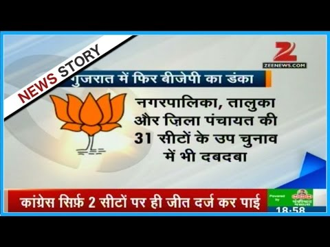 After Maharashtra, BJP won local body elections in Gujarat