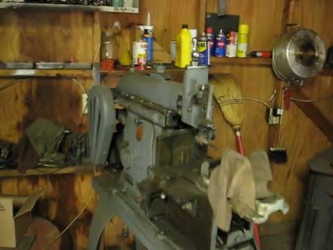antique machine shop youtube. Black Bedroom Furniture Sets. Home Design Ideas