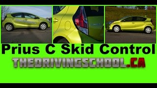 Skid control in a Prius C! And how to turn off the VSC (ESP)